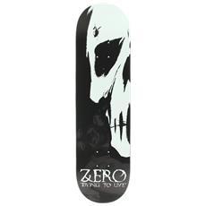Skateboard Dying To Live Black Nero Bianco Taglia Unica