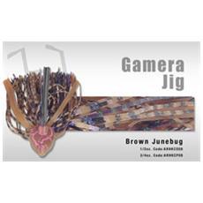 Gamera Jig 3/4 Oz Brown Junebug
