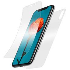 Vetro Temperato Iphone X Latex Flessibile Forcell - Protezione Fronte Retro