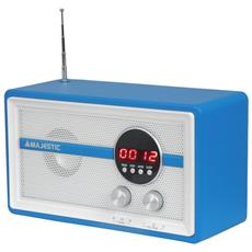 FM, 12/24, USB, AUX, 4x AA