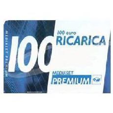 Ricarica Mediaset Premium da 100 €