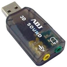 AN003 Scheda audio ADJ 3D USB 2.0 Home Series