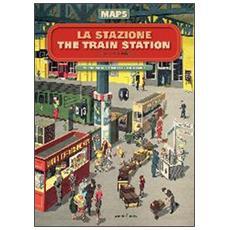 La stazioneThe train station. Maps
