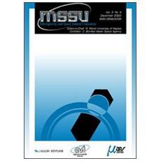 MSSU Microgravity and Space Station Utilization. Vol. 3. n. 4/02