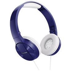 Cuffie Cablato Pure Sound Colore Blu