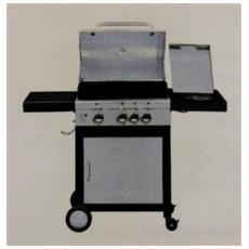 Barbecue Montana 3 Gas Grill Sunday