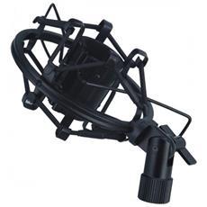 Supporto Elastico Per Microfono Nero 22x24 Apm215