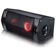 Mini Hi-Fi OneBody Potenza 220 Watt Bluetooth Wireless Karaoke Effetti DJ con Subwoofer Integrato