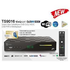Ric. Sat TS9016TIVU Hevc 2Slot USBr WiFi