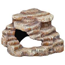 Roccia Angolare 27x21x27 Cm In Resina Poliestere 76208