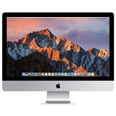 iMac Monitor 27'' 5K Ultra HD 5120x2880 Intel Core i5-7500 Quad Core 3.4 GHz Ram 8GB SSD 256 GB 4x USB 3.0 OS X