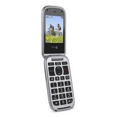 "PhoneEasy 613 Argento Display 2.4"" +Slot MicroSD Buetooth Radio Fotocamera 2Mpx"