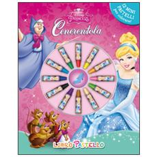 Disney - Cenerentola - Il Libro Pastello A Cera