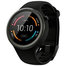 "Smartwatch Moto 360 Sport Resistente all'acqua IP67 Display 1.37"" 4GB Bluetooth Colore Nero - Euopa"