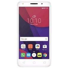 "Pixi 4 (5) Bianco 8 GB 4G / LTE Dual Sim Display 5"" Slot Micro SD Fotocamera 8 Mpx Android Italia"