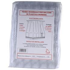 Tenda Balcone Pvc Bianca 350x400