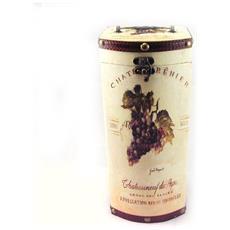 box bottiglia 'bacchus', una bottiglia - [ f3075]