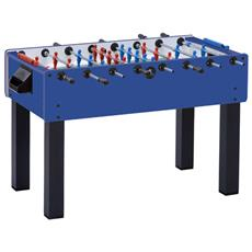 Nencini Sport Calcio Balilla New Camp Con Piano In Cristallo Aste Passanti