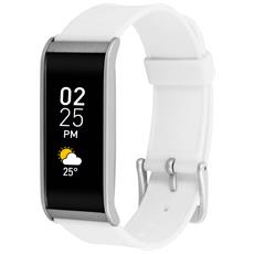 Zefit 4 Tracker Activity Smartwatch Bluetooth Bianco