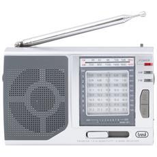 Radio Portatile Multibanda Mb 728 Argento