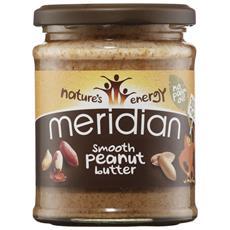 Meridian Natural Peanut Butter 100% 280 G - Crunchy