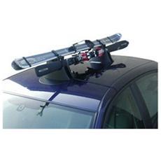 Portasci magnetico da tetto auto Ellisse Sky e Board