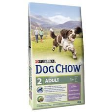 Dog Chow Cane Adulto, Agnello E Riso Kg. 14