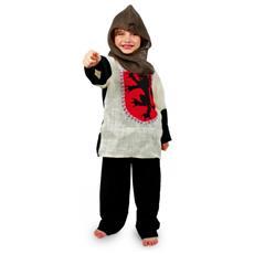 """Costume Da Cavaliere """"""""arthur"""""""" Per Bambini 4-10 Anni"""