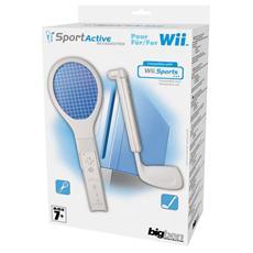WII - Racchetta Tennis + Mazza Golf