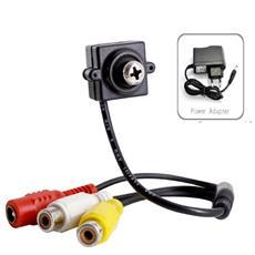 Mini Micro Telecamera Vite Nascosta Cam Spia Spy Cmos A Colori Spycam Spia + Amplificatore + Microfono + Alimentatore V