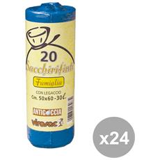 Set 24 50x60 Blu X 20 Pezzi Virosac Riordino
