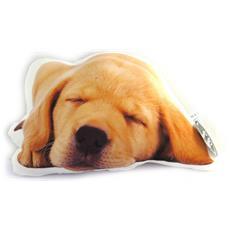 a forma di cuscino 'un amour d'animaux' cane - [ m9602]