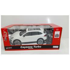 Porsche - Porsche Cayenne Turbo - Radiotelecomandata - Bianco - Scala 1:16