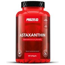 Astaxantina 5 Mg 30 Softgel Poteziale Antiossidante Naturale Carotenoide Salute -