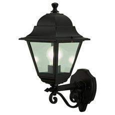 Lanterna da parete in alluminio pressofuso Lampada Mod alto E27 28x42 H