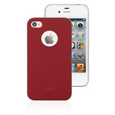 iGlaze 4 Cover posteriore per iPhone 4 Colore rosso
