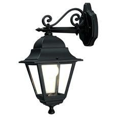 Lanterna da parete in alluminio pressofuso Lampada mod. Basso E27 28x42 H