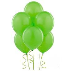 100 Palloncini In Lattice Colore Verde Chiaro Ø 25 Cm