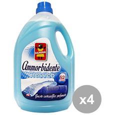 Set 4 Ammorbidente 52 Mis. classico 3,9 Lt. Detergenti Casa