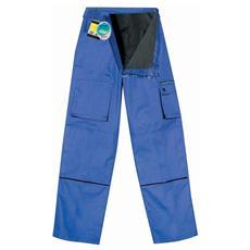 Pantalone Blu Felpato Traspirante Taglia 3xl