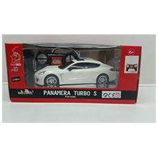 Porsche - Porsche Panamera Turbo S - Radiotelecomandata - Scala 1:24 - Bianca