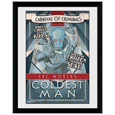 Comic - Circus Coldest Man (stampa In Cornice 30x40 Cm)
