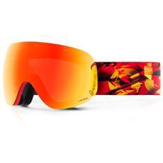 Maschera Snowboard Open Magma The One Rosso Rosso Taglia Unica