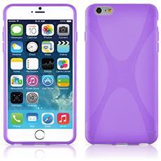Cadorabo Custodia per Apple iPhone 6 / iPhone 6S in Frost Lilla