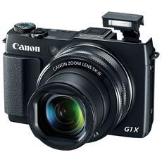 CANON - PowerShot G1 X Mark II Nero Sensore CMOS 12Mpx...