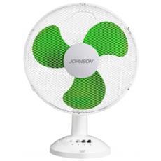 Ventilatore Da Tavolo Pala 34 Cm Oscillante 3 Velocità Johnson Aria34 40 W Bianco