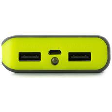 Powerpump 6600 Lemon, Ioni di Litio, USB, Grigio, Limone, Micro-USB, Tablet, Fotocamera, Smartphone
