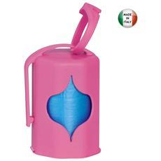 Dispenser sacchetti igienici con doppia uscita colori assortiti