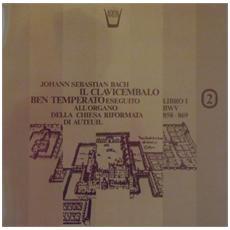 Bach J. S. - Il Clavicembalo Ben Temperato, Libro Ii Bwv 858-869 - Thiry Louis Org