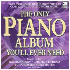 Only Piano Album You'll Ever Need (The) (2 Cd)